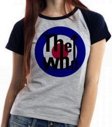 Blusa Feminina The Who Rock