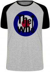 Camiseta Raglan The Who Rock