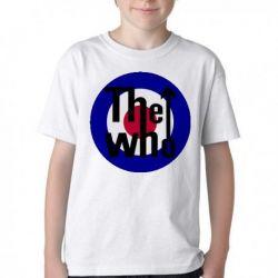 Camiseta Infantil The Who Rock