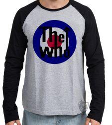 Camiseta Manga Longa The Who Rock