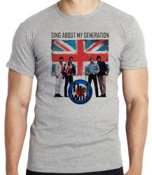 Camiseta Infantil The Who Banda