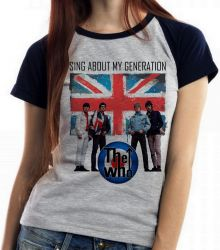 Blusa Feminina The Who Banda