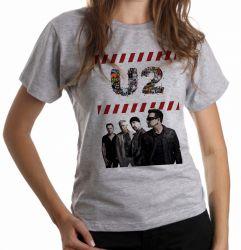 Blusa Feminina U2 Banda