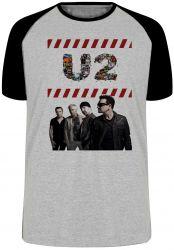 Camiseta Raglan U2 Banda