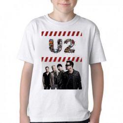 Camiseta Infantil U2 Banda