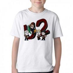 Camiseta Infantil U2 Desenho