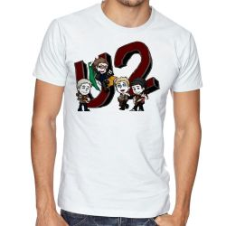 Camiseta U2 Desenho