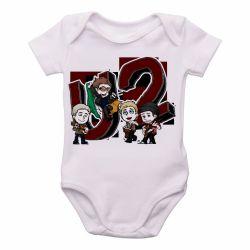 Roupa Bebê U2 Desenho