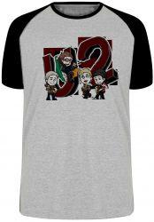 Camiseta Raglan U2 Desenho