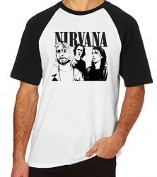 Camiseta Raglan Nirvana