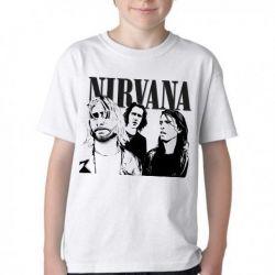 Camiseta Infantil Nirvana