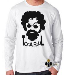 Camiseta Manga Longa Toca Raul