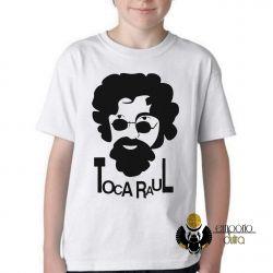 Camiseta Infantil Toca Raul
