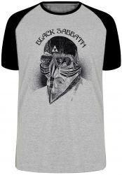 Camiseta Raglan Black Sabbath