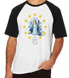 Camiseta Raglan Nossa Senhora das Graças