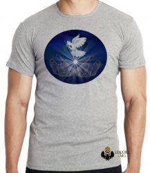 Camiseta Infantil Pomba da paz
