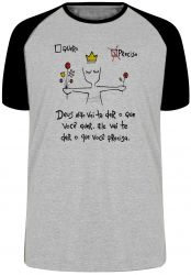 Camiseta Raglan Quero Preciso