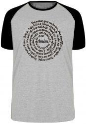 Camiseta Raglan Pai Nosso Oração