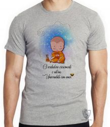 Camiseta Infantil Universalista com amor