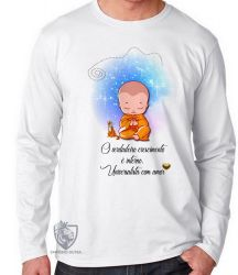 Camiseta Manga Longa Universalista com amor