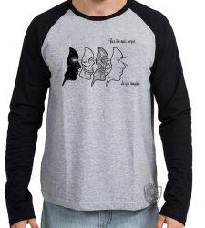 Camiseta Manga Longa Corpos Espiritual