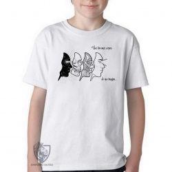 Camiseta Infantil Corpos Espiritual