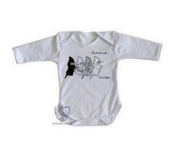 Roupa Bebê manga longa Corpos Espiritual
