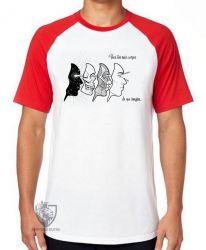 Camiseta Raglan Corpos Espiritual