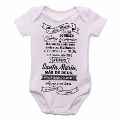 Roupa Bebê Ave Maria Oração