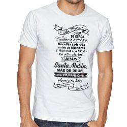 Camiseta Ave Maria Oração