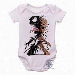 Roupa Bebê Venom Groot