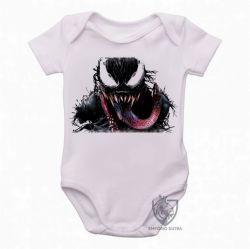 Roupa Bebê Venom Vilão