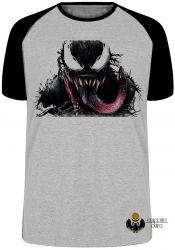 Camiseta Raglan Venom Vilão