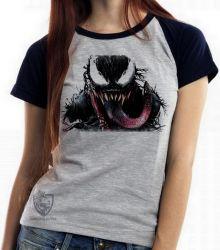 Blusa Feminina Venom Vilão