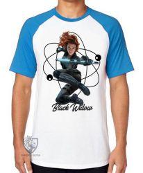 Camiseta Raglan Viúva Negra