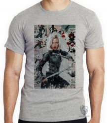 Camiseta Black Widow