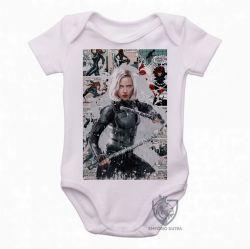 Roupa Bebê Black Widow