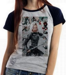 Blusa Feminina Black Widow