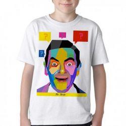 Camiseta Infantil Mister Bean