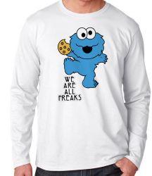 Camiseta Manga Longa Muppets Baby