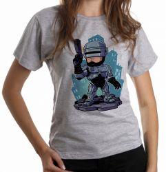 Blusa Feminina Robocop