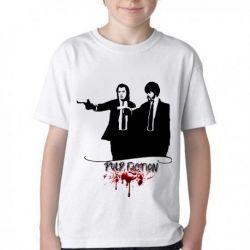 Camiseta Infantil Pulp Fiction
