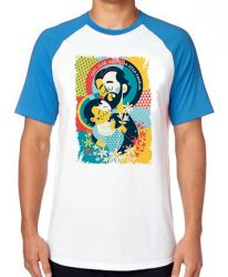 Camiseta Raglan São José