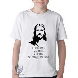 Camiseta Infantil  Luz de Jesus