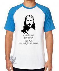 Camiseta Raglan Luz de Jesus