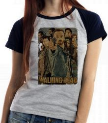 Blusa Feminina The Walking Dead Arma