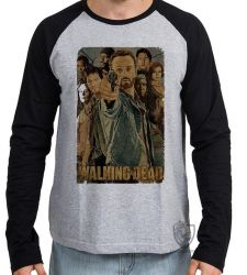Camiseta Manga Longa The Walking Dead Arma