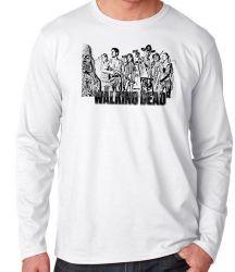 Camiseta Manga Longa The Walking Dead Serie