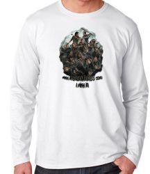Camiseta Manga Longa The Walking Dead Misericórdia