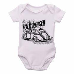 Roupa Bebê Fusca Volkswagen Vintage